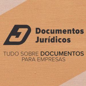 Blog Documentos Jurídicos: imagem de uma banner com o logo e nome do blog. Embaixo aparece a seguinte frase: Tudo sobre documentos para empresas.
